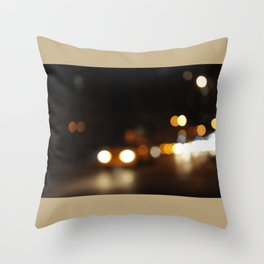new york city never always changes Throw Pillow