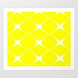 Avis Yellow Art Print