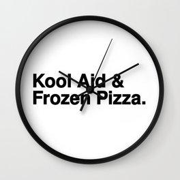 KOOL AID & FROZEN PIZZA Wall Clock