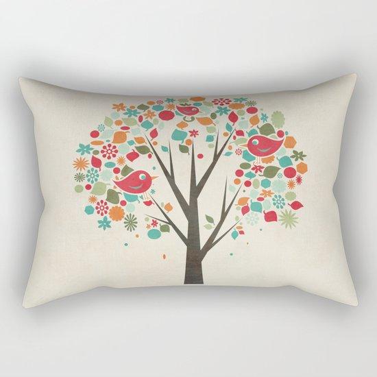 Home Birds Rectangular Pillow