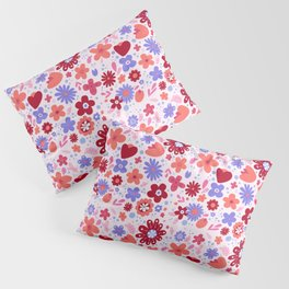 Garden Fantasy - Warm Colors Pillow Sham