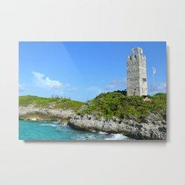 Blue Lagoon Island, Bahamas Metal Print