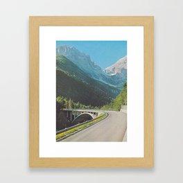 Pixelmountain Framed Art Print