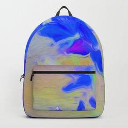 Blue Flower Bouquet Backpack