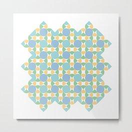 Bom Pattern Metal Print