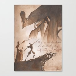 The Tale of Three Brothers Canvas Print