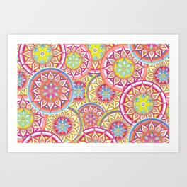Sunstars Art Print