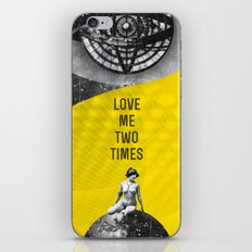 Love me two times (Rocking Love series) iPhone & iPod Skin