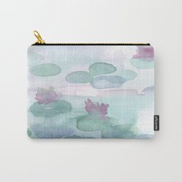 Monet Lily pads Carry-All Pouch