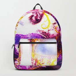 Mysterious Face Mask Backpack