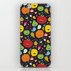 Fruticas pattern iPhone Skin