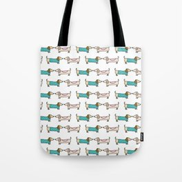 Dachshunds lovers Tote Bag