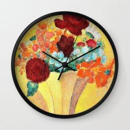 Alexej von Jawlensky - Large still life. Bright bouquet - Digital Remastered Edition Wall Clock