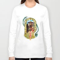 spirited away Long Sleeve T-shirts featuring Spirited Away by Steph Harrison