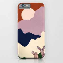 Intangible Land iPhone Case