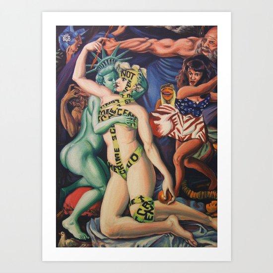 The Triumph of Love Art Print