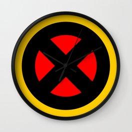 The X logo Wall Clock