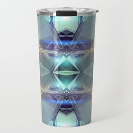 Abstract angular glow Travel Mug