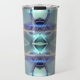 Abstract angular glow Travel Mug