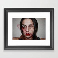 But he loves me Framed Art Print