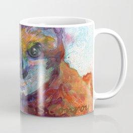 Sloth Mixed Media on Yupo Coffee Mug