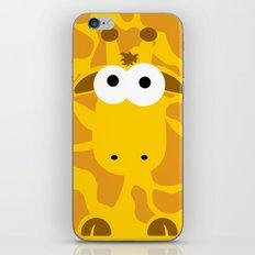 Minimal Giraffe iPhone & iPod Skin