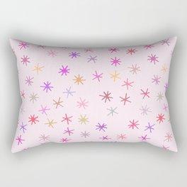 snowflakes (4) Rectangular Pillow