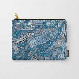 Doodle music Carry-All Pouch
