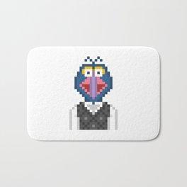 Gonzo The Muppets Pixel Character Bath Mat