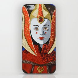 Queen Amidala iPhone Skin