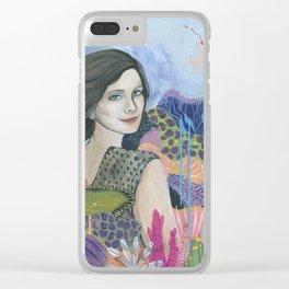 My Heart Is An Ocean Clear iPhone Case