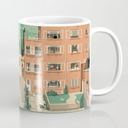 Hitchcock's Rear Window Coffee Mug