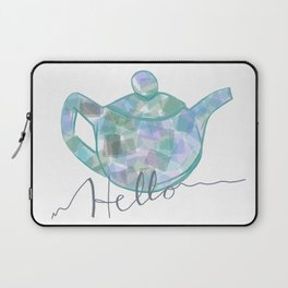 Blue Brew Laptop Sleeve