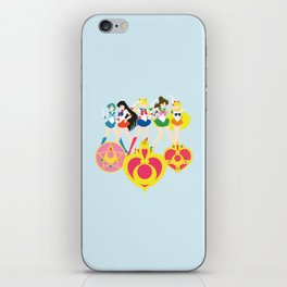 Sailor Soldiers iPhone Skin