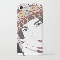 headdress iPhone & iPod Cases featuring Headdress by Footeprints