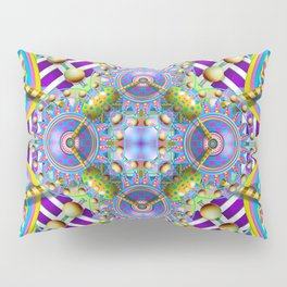 Perpetual Psychedelic Machine Pillow Sham
