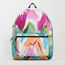 COLOR SPLURGE Chevron Waves Backpack