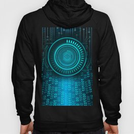 Futurist Matrix | Digital Art Hoody
