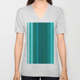 Stripes in colour 13 Unisex V-Neck
