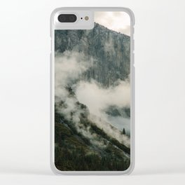Yosemite fog Clear iPhone Case