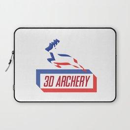 3D ARCHERY Laptop Sleeve