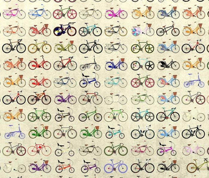 Bikes Metal Travel Mug