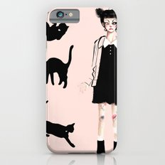 Augustine and cats iPhone 6s Slim Case