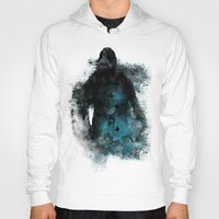 bane Hoodies featuring Abstract BANE by DesignLawrence