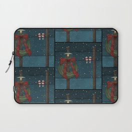There's a Feeling of Christmas Laptop Sleeve
