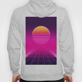 Futuristic space background Hoody