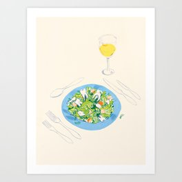 You've Got Some Teeth In Your Salad Art Print
