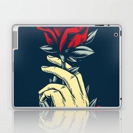 Rubino Spirit Wolf Love Red Rose Conservation Laptop & iPad Skin
