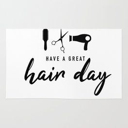 Have A Great Hair Day Rug
