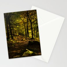 Padley Gorge Trail in Autumn Stationery Cards